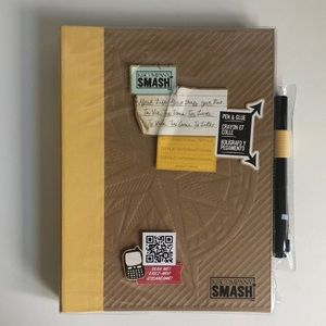 K&COMPANY SMASH Scrapbook Collage Notebook Journal